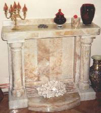 "Decorative fireplace ""Unison"""